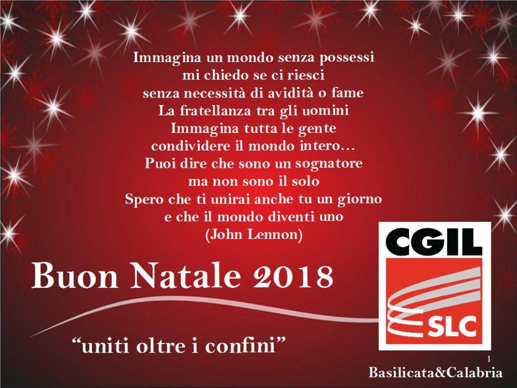 Auguri Di Buon Natale Al Marito.I Nostri Migliori Auguri Di Buon Natale 2018 Slc Cgil Calabria Basilicata